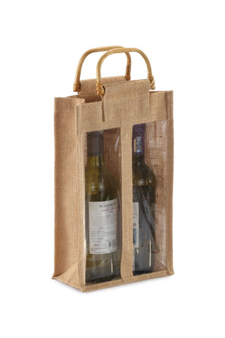 Clear Natural Wine Bag