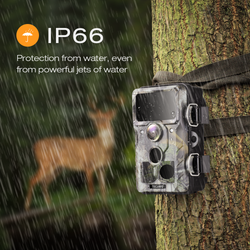 Toguard H85 Trail Camera WiFi Bluetooth 20MP 1296P Hunting Game Camera