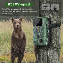 Toguard H70 20MP 1080P Trail Camera for Hunting and Wildlife Monitoring
