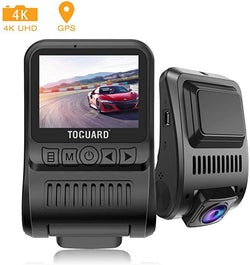 Toguard CE55G Dash Cam 4K GPS Dashboard for Cars Recorder with Loop Recording Parking Monitor