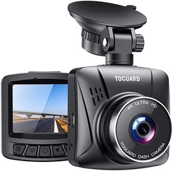 "Toguard  CE56  4K Dash Cam with GPS, 2"" LCD UHD 2160P Car Camera Vehicle Driving Recorder"