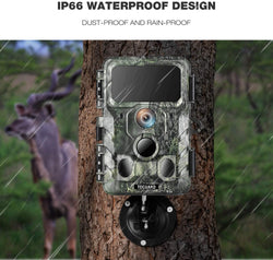 Toguard H100 4K WiFi Trail Camera Bluetooth 30MP with IR LEDs Night Vision Game Camera