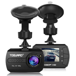 "Toguard  CE680 Mini Dash Camera for Cars HD 1080P Wide Angle 1.5"" LCD with G-Sensor"