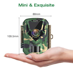 Toguard H20 16MP 1080P Mini Trail Camera  for Wildlife Monitoring and Home Observation