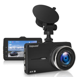 Toguard  CE50G  Dash Cam 4K Ultra HD Dash Camera with GPS  Car Driving Recorder