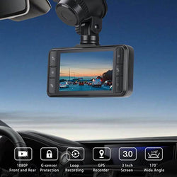 Toguard CE63 Dual Dash Cam Front and Rear Dual Lens in Car Camera - Toguard camera