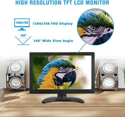 Toguard D126 12 Inch HD 1366x768 Color Computer Monitor Display - Toguard camera