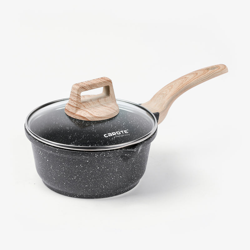 Essential Woody saucepan with lid