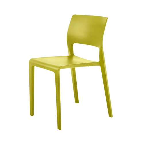 yellow outdoor chairs
