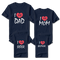 Family Heart  Customize T-Shirt (Set of 4) | 一家人定制T恤 (4件)
