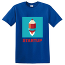 Startup Pencil Rocket Customize T-Shirt | 初創定制T恤