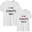 Grazy Couples Customize T-Shirt | 情侶定制T恤