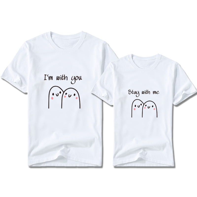 Stay With Couples Customize T-Shirt | 情侶定制T恤