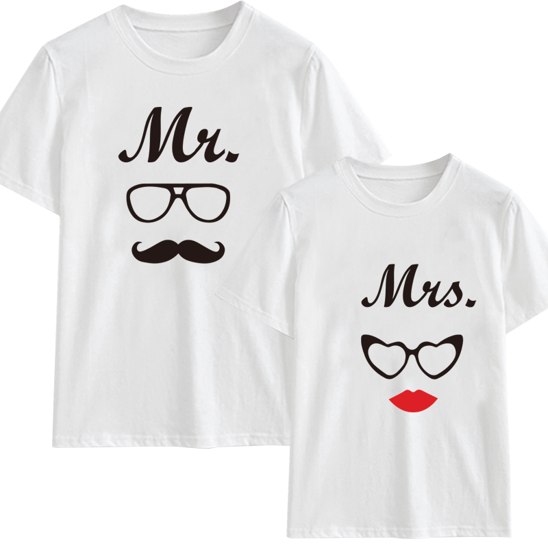 Mr & Mrs. Couples Customize T-Shirt | 情侶定制T恤