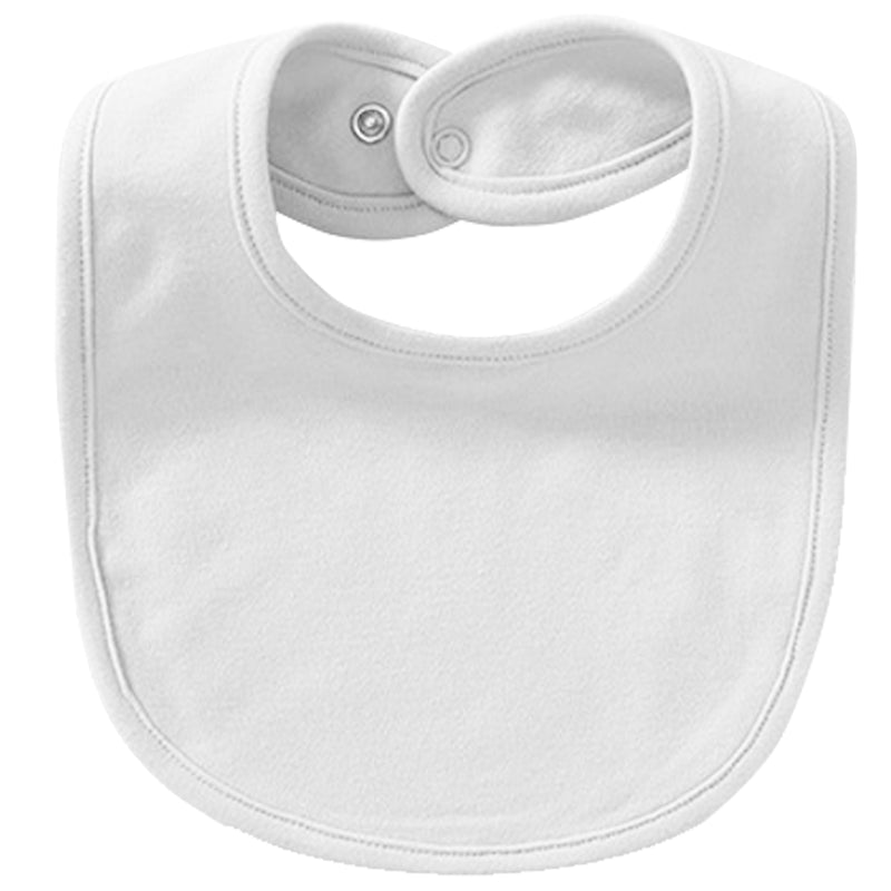 Blank Cloth Baby bibs BB 口水肩