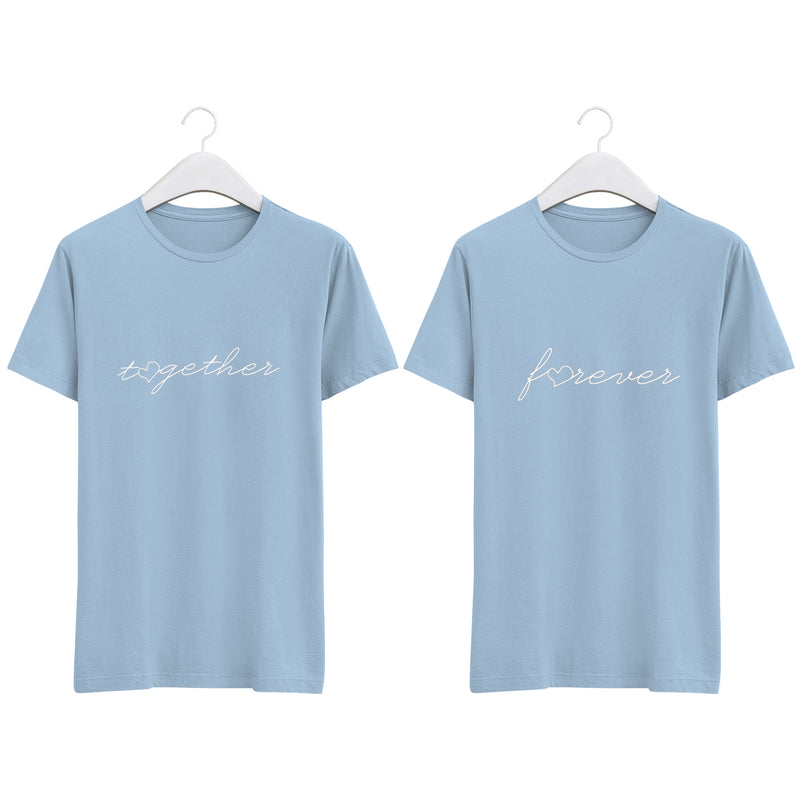 Forever 純棉180克情侶T恤(一件價錢)|Forever 180G Cotton Couple Tee(1 Piece Price) | 可訂製加名
