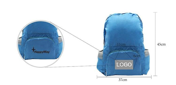 Dual-use Foldable Backpack