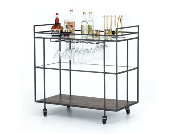 Prohibition Bar Cart