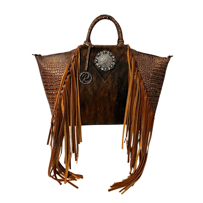 Ashley's Fringe Satchel