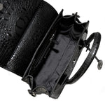 16386-1A BLACK LEATHER