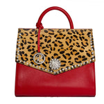 17109-1R-CC RED & Leopard