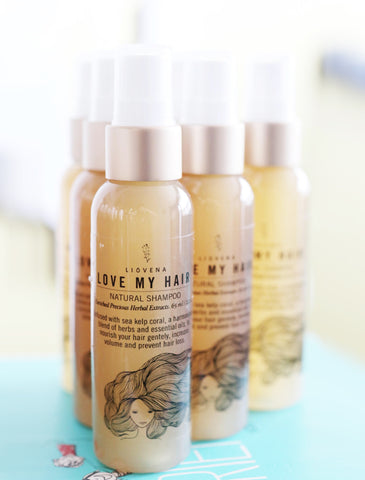 Liovena Love My Hair Natural Shampoo