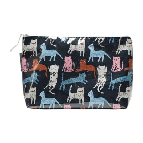Annabel Trends Cosmetic Bag Cat Mix