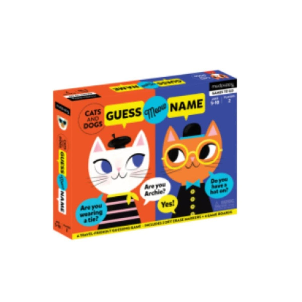 Guessing Game - Cat & Dogs Mudpuppy Games
