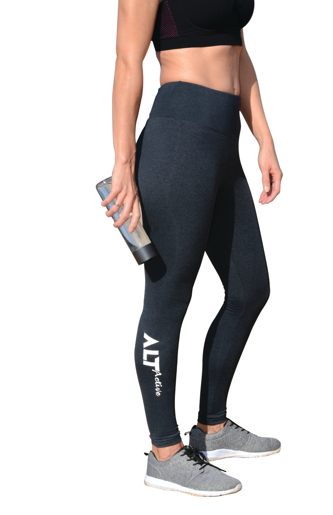 Charcoal Full Length Leggings