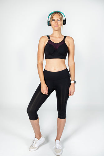 Core 3 quarter Legging in Black