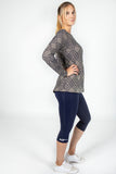 1004 Long Sleeve Batwing Top
