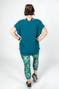 Petrol Loose Fit Bamboo Tee