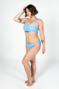 Powder Blue Active Bikini