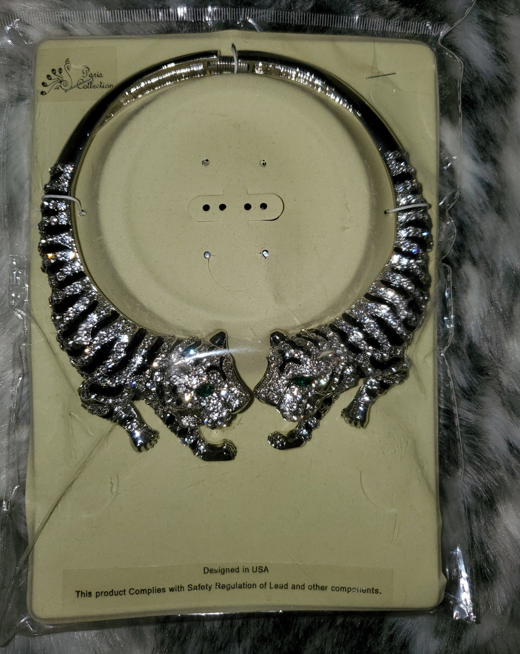 Twin Tigers Neckless