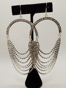 Crystal Drape Earrings