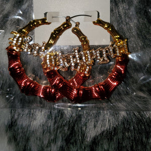Bold In Gold Hoops