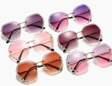 Load image into Gallery viewer, Dazzling Stone Sunglasses