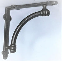 "SOLID cast iron ALBION shelf bracket, ideal for 7"",8"",9"""