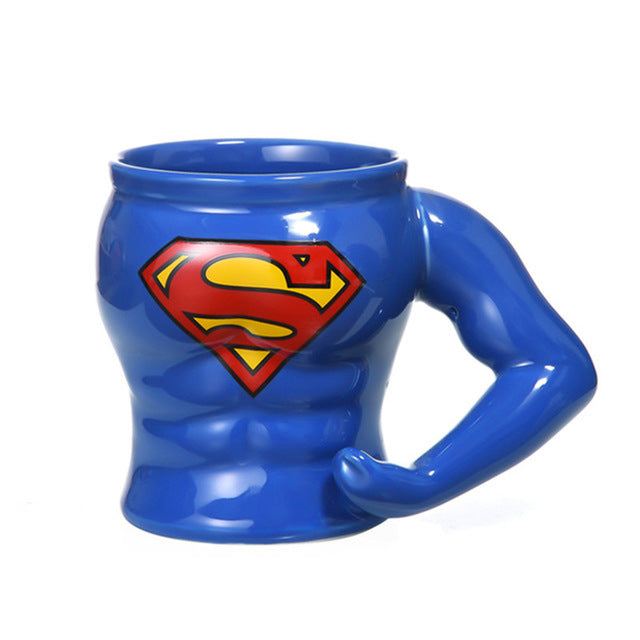 Super Man Marvel Coffee Mug