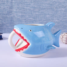 Load image into Gallery viewer, Shark Style Coffee Mugs 540ml
