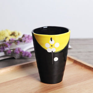 Colorful Floral Cup