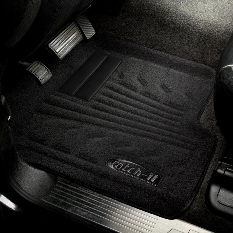 Lund 00-03 Chevy Malibu Catch-It Carpet Front Floor Liner - Black (2 Pc.)