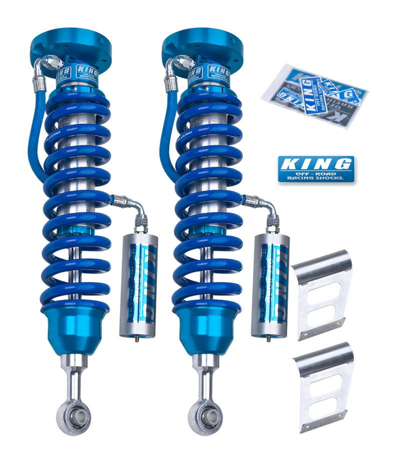 King Shocks 2007+ Toyota Tundra 2.5 Dia Front Coilover w/Remote Reservoir (Pair)