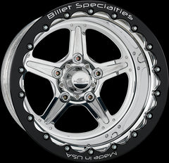 Billet Specialties Street Lite - 17x10 S550 Mustang Single Bead Lock