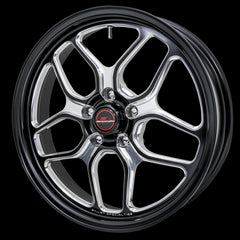 Billet Specialties Win Lite 18x5 Drag Pack Front Wheels