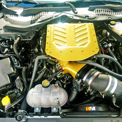 UPR 2018-19 Mustang GT with Whipple Supercharger Single Valve Catch Can with CSS