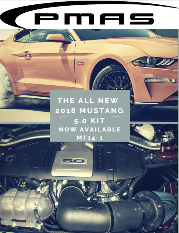 PMAS 2018-19 Mustang 5.0 CAI (no tune required)