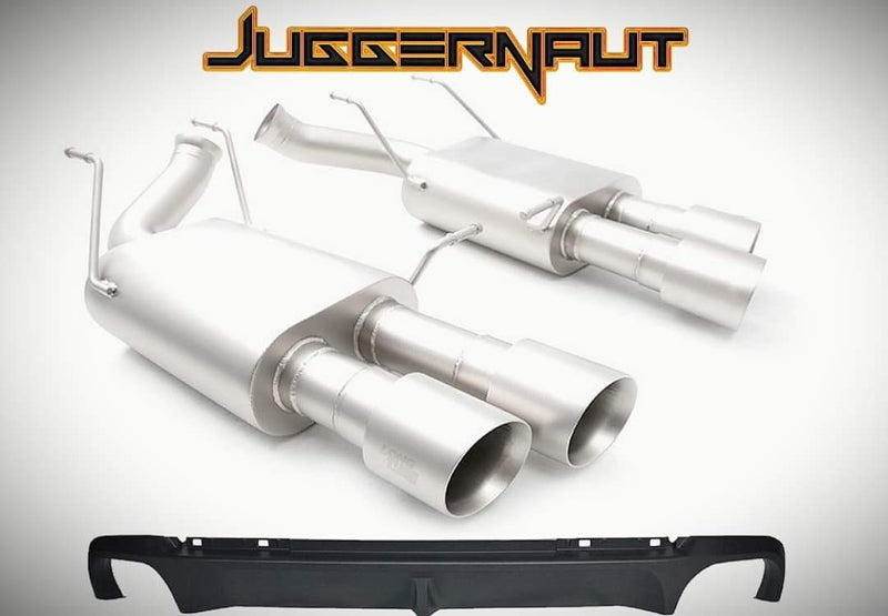 LTH Quad Tip Axle Back Conversion Kit (11-14 GT/GT500/Boss)