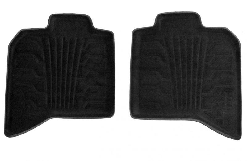 Lund 00-01 Toyota Camry Catch-It Carpet Rear Floor Liner - Black (2 Pc.)