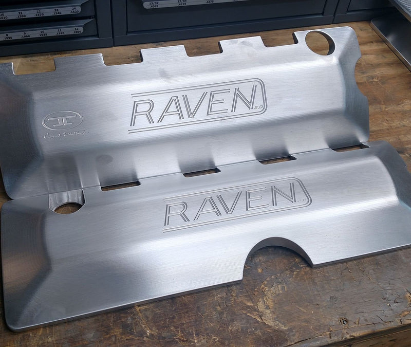 JC Customs Coyote Coil Covers w/ Custom Engraving (11-17 5.0/5.2)